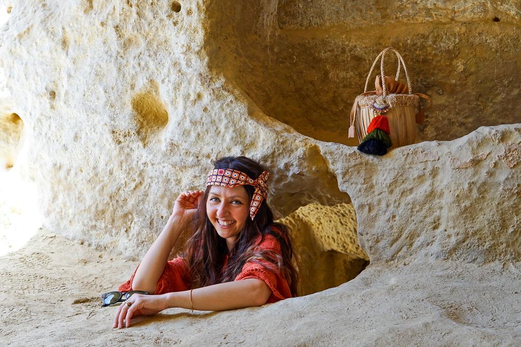 matala-hippiehöhlen