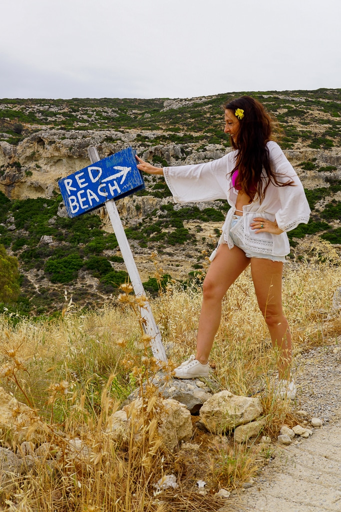 red-beach-kreta