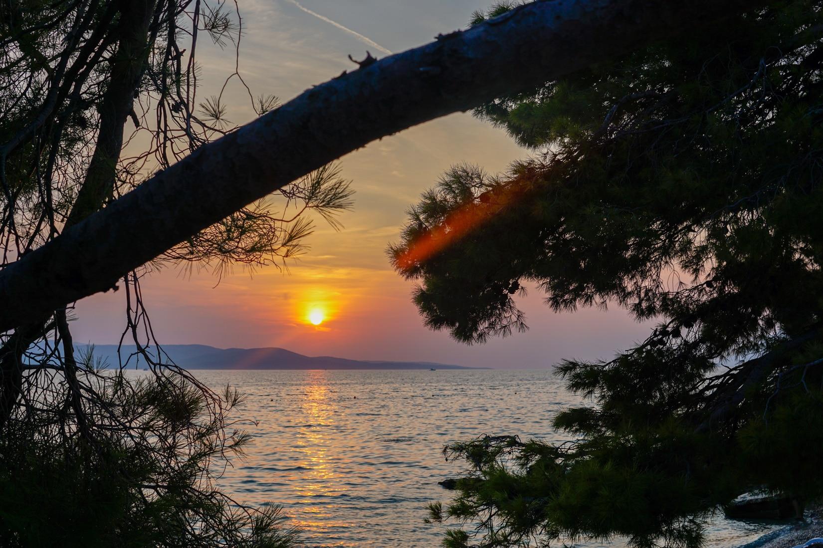 kroatien-sonnenuntergang