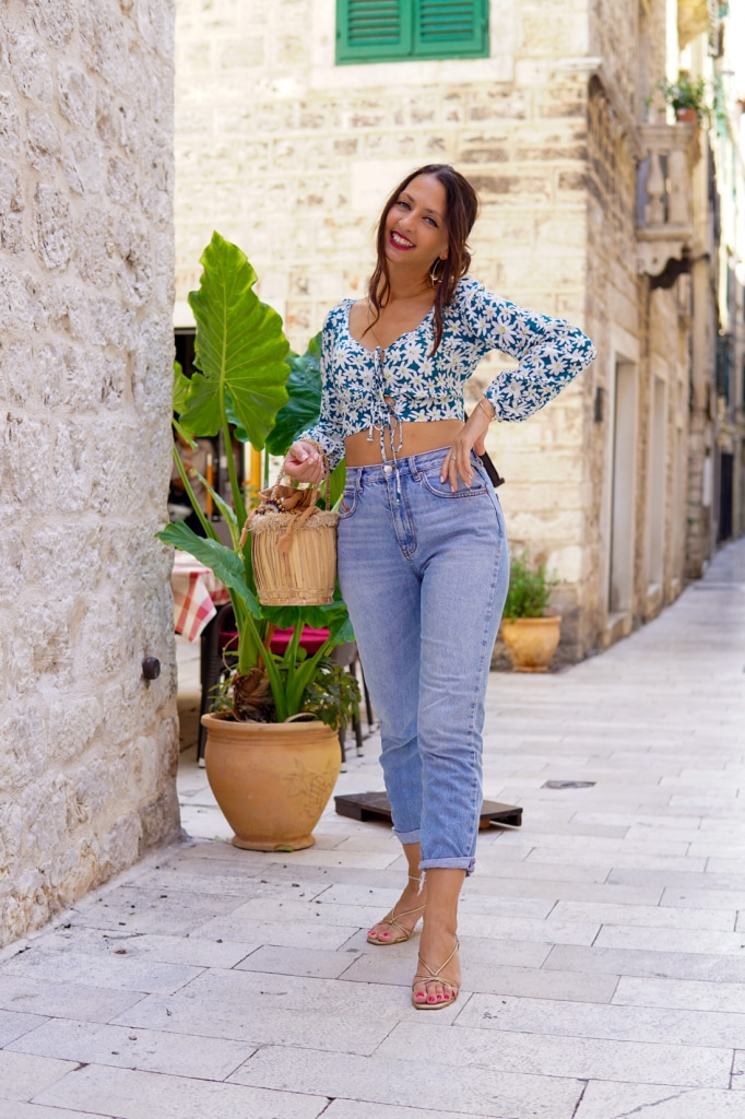blaue-mom-jeans-slim